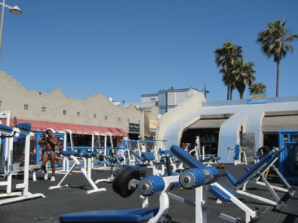 """Muscle Beach Venice""- das Fitnessweltmekka"