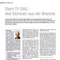 Stern TV Gau - drei Stimmen aus der Branche