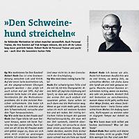 Interview Personal Trainer und Coach Robert Rode im Berliner TIP