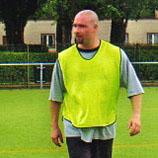 Robert Rode Fußballtraining