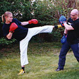Kickboxtalent Eric Vanselow & Robert Rode