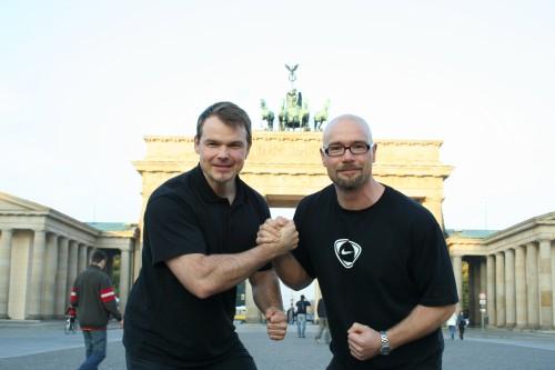 Robert Rode Fotoshooting Personal Trainer in Berlin