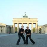 Personal Trainer vor Brandenburger Tor