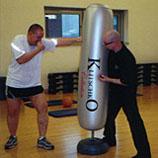 Boxtraining in Berlin Personal Trainer Robert Rode