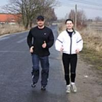 Lauftraining Robert Rode & Kerstin Vanselow