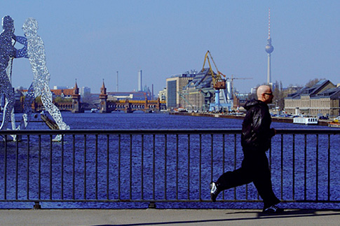 Werbefoto Elsenbrücke