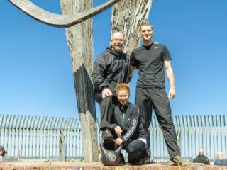 Personal Trainer Team Berlin im Fotoshooting