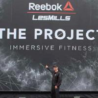 """A look at tomorrow Les Mills und Reebok präsentieren mit """"Immersive Fitness"""" ein neues Groupfitnesserlebnis"""